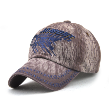 Hand Washing Embroidery Denim Cotton Cap