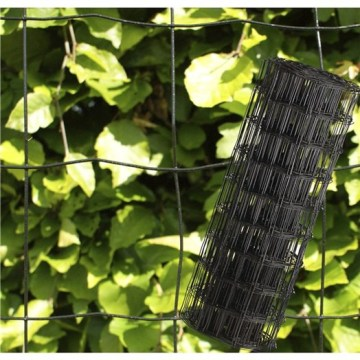 PVC Coated Euro Fence Roll 75mm Mesh