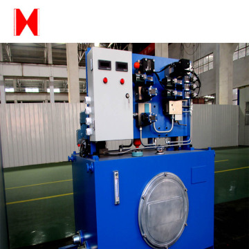 Hydraulic power station for machinery