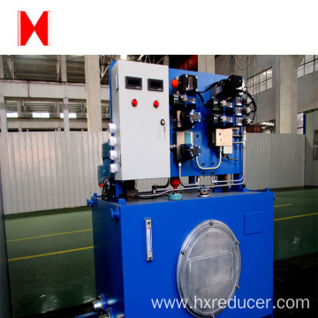 mine hoist of hydraulic station