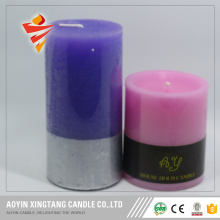 Daliy light decorative pillar candles