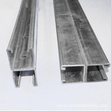 Hot Dipped Galvanized Steel trough Channel Cable Tray