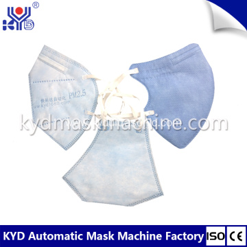 High Speed Folding Mask Making Machine
