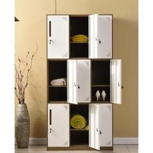 Steel 9 door locker for cloth storage