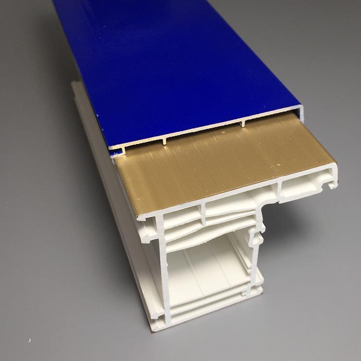 70mm external aluminium covered pvc profile8