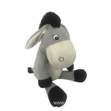 Plush Donkey With Rattle