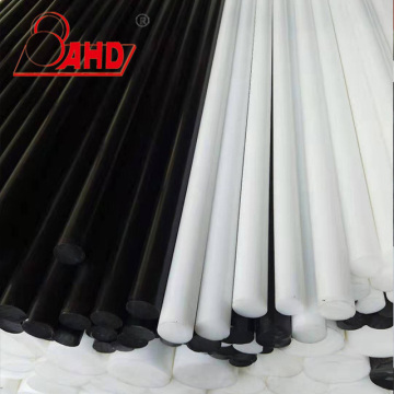 White Black POM Round Rod Delrin Bar