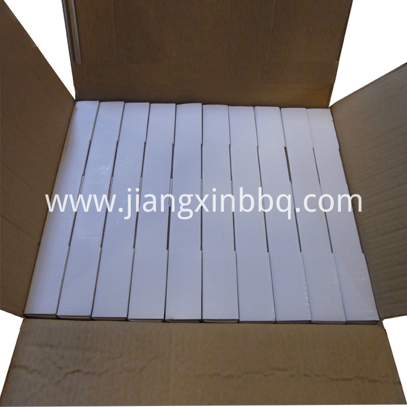 16 Inch Natural White Pizza Stone Set Packaging