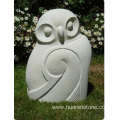G603 granite sitting owl