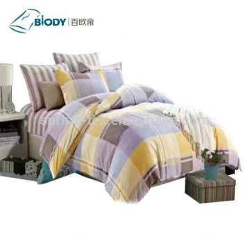High reputation for 100 Cotton Bedding Sets wholesale Cute 70GSM Microfiber 3D Bed Sheet Set supply to Spain Suppliers