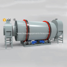 Coconut Coir Rotary Drum Dryer Machine For Sale