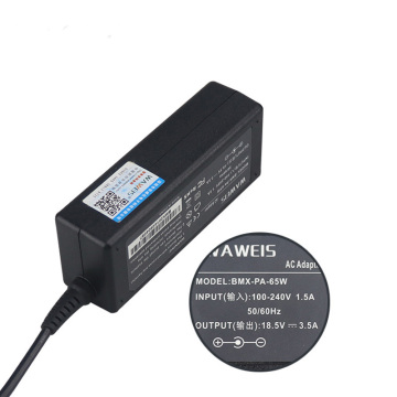 65w 18.5V 3.5A 7.4*5.0mm Laptop Charger Power Adapter