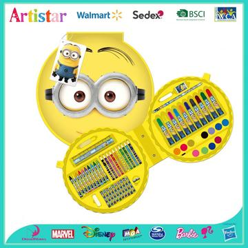 MINIONS 60 pieces coloring art set