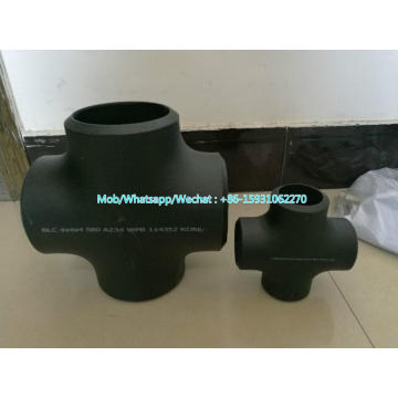 ASTM A234 WPB seamless butt weld CROSS