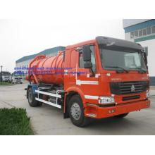 China for China Sewage Truck,Sewage Suction Truck,Vacuum Sewage Suction Truck Manufacturer Vacuum Sewage Truck  Sinotruk howo export to Ireland Factories