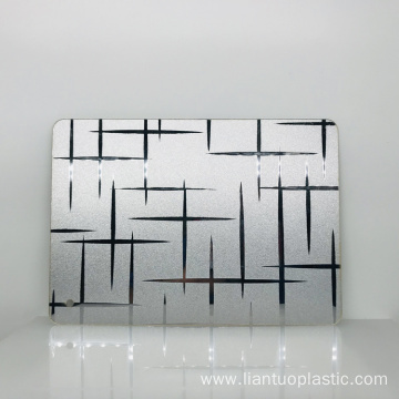 NEW DESIGN Acrylic Plastic Fancy Mirror Sheet