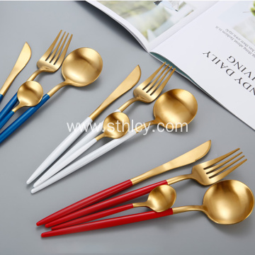 Stainless Steel Creative Matte Travel Cutlery Set