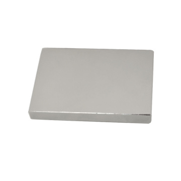 Plating Nickel Rare Earth Blcok Magnet N45