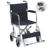 Good Price Convenient Portable Folding Patient Wheel Chair