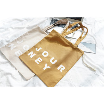 Letter canvas bag simple cloth bag