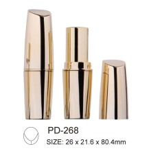 Cylindrical Plastic Lipstick Container