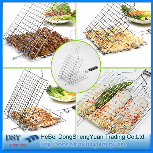 Professional Barbecue Grill Basket