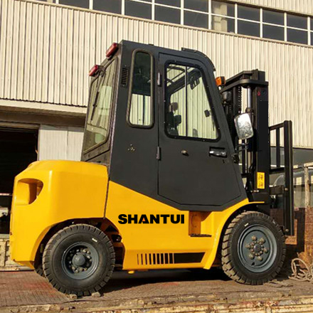 3 Ton Forklift With Cab