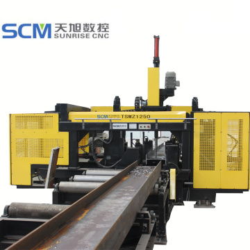 Air cooling H type CNC Beam drilling machine