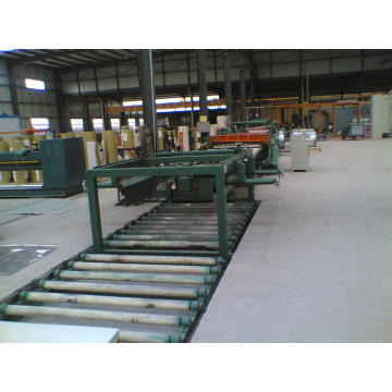 Cut to length production line as metal processing