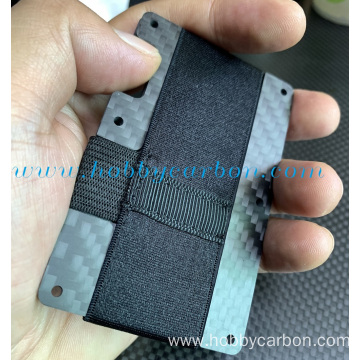 I-Luxury Card ID Card kabhayili fiber Holder