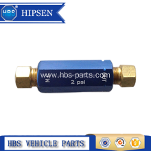China supplier OEM for Brake Proportioning Valve, Adjustable Brake Proportioning Valve, Brake Combination Proportioning Valve from China Manufacturer 260-3278 2lb Residual Brake Pressure Valve w/Fittings export to Palestine Manufacturers