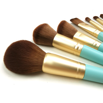 10pc houtgreep Makeup Brush Set