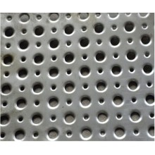 Different shapes of perforated metal mesh