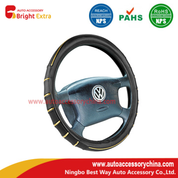 High Quality for Steering Wheel Cover Repair Black And Gold Steering Wheel Cover supply to Grenada Manufacturers