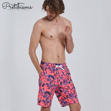 Mens quick dry plus size swim trunks