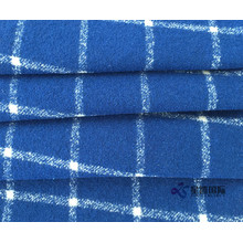 Factory directly for Checked Suiting Fabric Warm Touch Wool Nylon Blend Plaid Fabric export to Netherlands Antilles Manufacturers