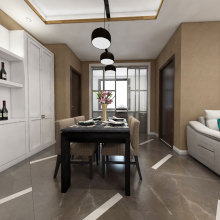 Popular Design for Marble Effect Porcelain Tiles Marble effect gloss kitchen wall floor tiles export to Poland Manufacturers