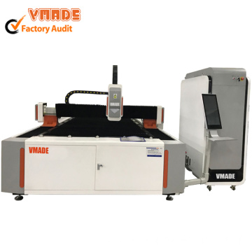 750W Fiber Laser Cutting Machine for Metal Sheet