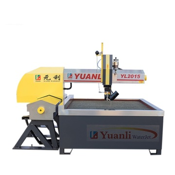 Hot sale mini 5 axis waterjet cutting machine