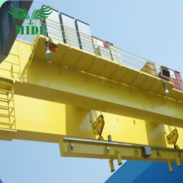 32 ton double beam bridge crane