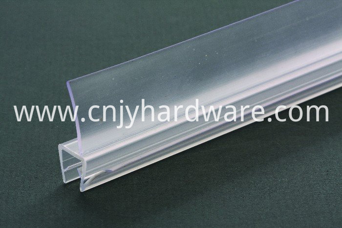 Clear Glas Bottom Seal PVC shower glass door waterproof stripping