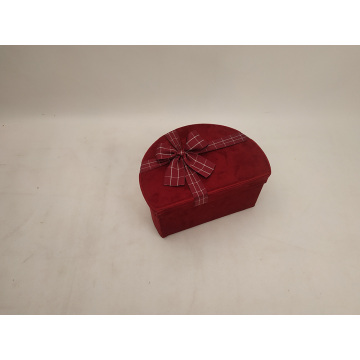 Hanmade Jewelry Semi-Circular Gift Box