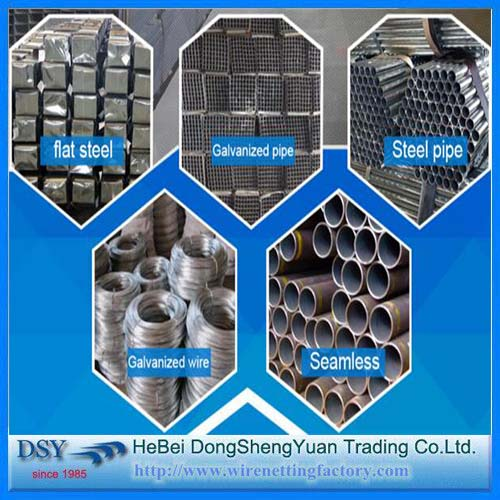 Round Galvanized Tube with EN10219 Standard