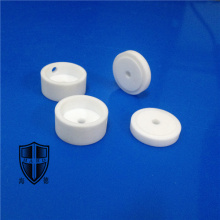 mycalex glass machinable ceramic custom made eyelet knob