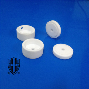 Factory supplied for Mechanical Ceramic Parts mycalex glass machinable ceramic custom made eyelet knob export to India Manufacturer