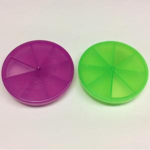 Manufacturer for Custom Pill Case Plastic rotary portable eight-grid pill case export to Italy Wholesale