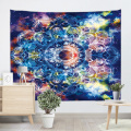 Bohemian Tapestry Wall Hanging Mandala Boho Hippie Indian Colorful Wall Tapestry Psychedelic for Livingroom Bedroom Dorm Home De
