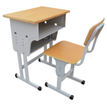 Metal Classroom Single Desk and Chair