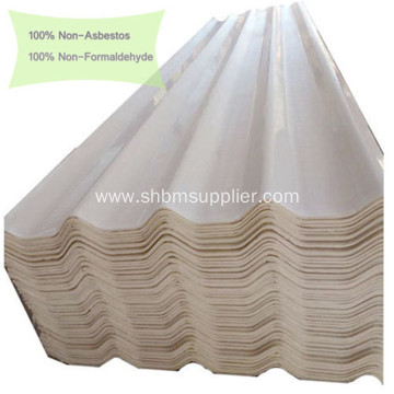 Low price Non-asbestos Anti-Moss MgO Glazed Roofing Sheets