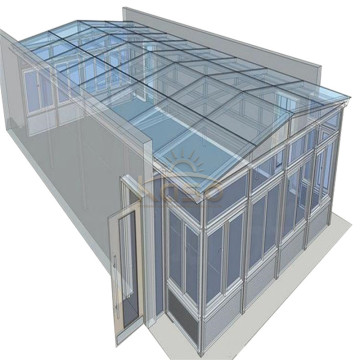 10 Years for Glass Room Three Season Garden Thermal Sunroom Roof Veranda Aluminium export to Burundi Manufacturers